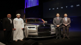رولز-رويس فانتوم الجديدة تنطلق في عمان !